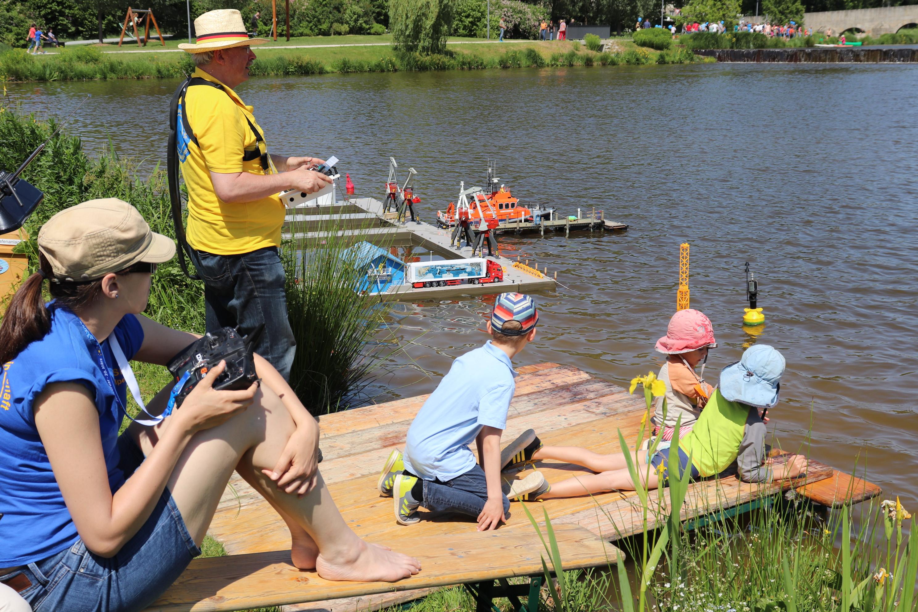 9. Juni 2019 cooltour-Sommer Städtetag_Modellschiffbauer