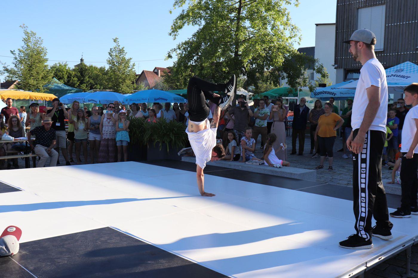 29. Juni - cooltourSommer Tirschenreuth - Breakdancer Benedikt Mordstein
