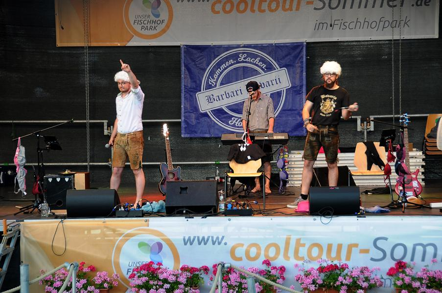 27. Juni cooltourSommer im Fischhofpark - Barbari Bavarii
