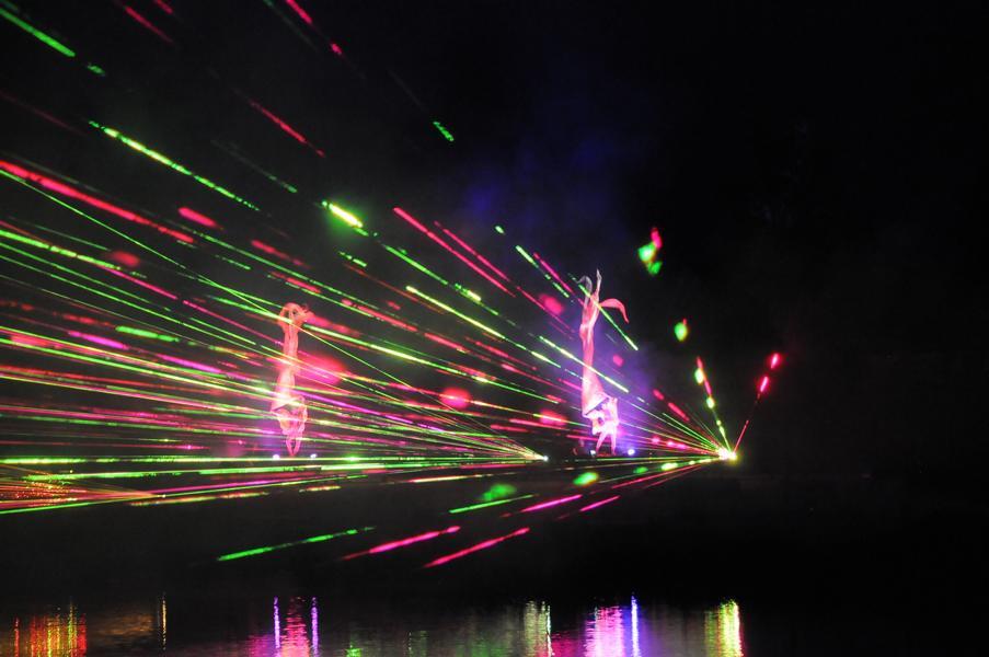 29. Juni cooltourSommer im Fischhofpark - Finale Lasershow