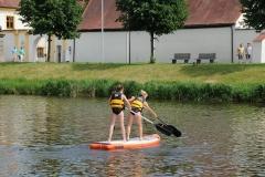 9. Juni 2019 cooltour-Sommer Städtetag Standup Paddling und Kanu