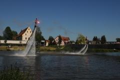 29. Juni cooltourSommer im Fischhofpark - Flyboarder