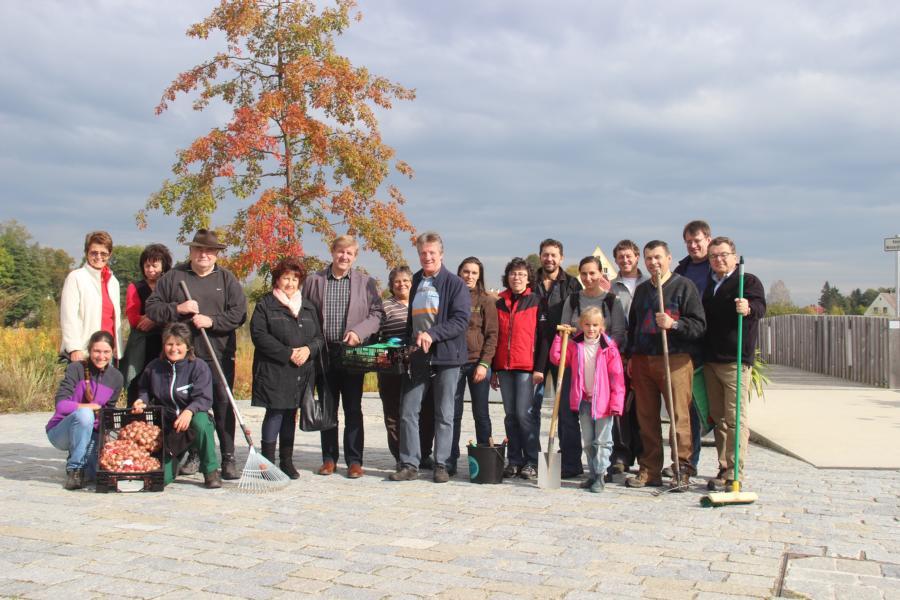 Bürgeraktionstag im Fischhofpark – Herbst 2016