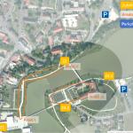 Lageplan Areal und Zufahrt